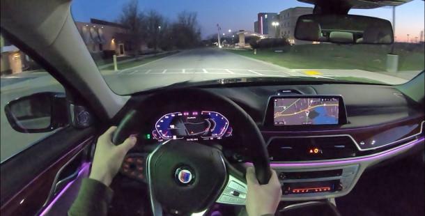 2020 Alpina B7'nin Gece Sürüşüne Hayran Kalacaksınız