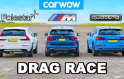 Hangisi Geçer? Audi Q5e – BMW X3 M40i – Volvo XC60 Polestar
