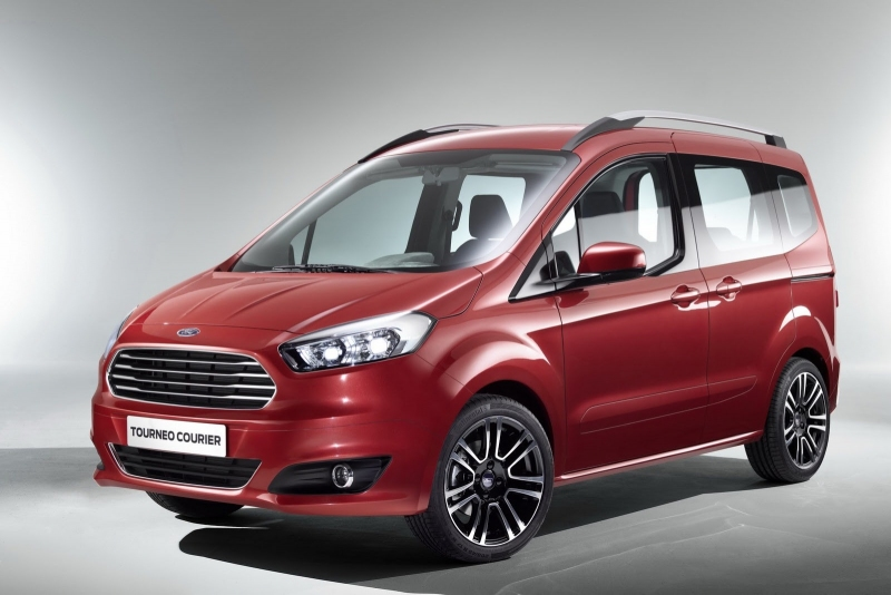 2015 Yeni Ford Tourneo ve Transit Courier Ülkemizde Satışa Sunuldu ...