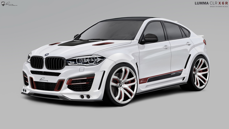 Lumma Design 2015 Bmw Clr X6 R Oto Kokpit