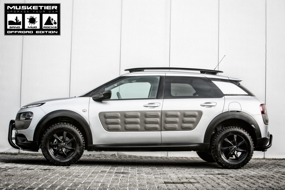 Musketier Citroen C4 Cactus Off Road Edition Oto Kokpit