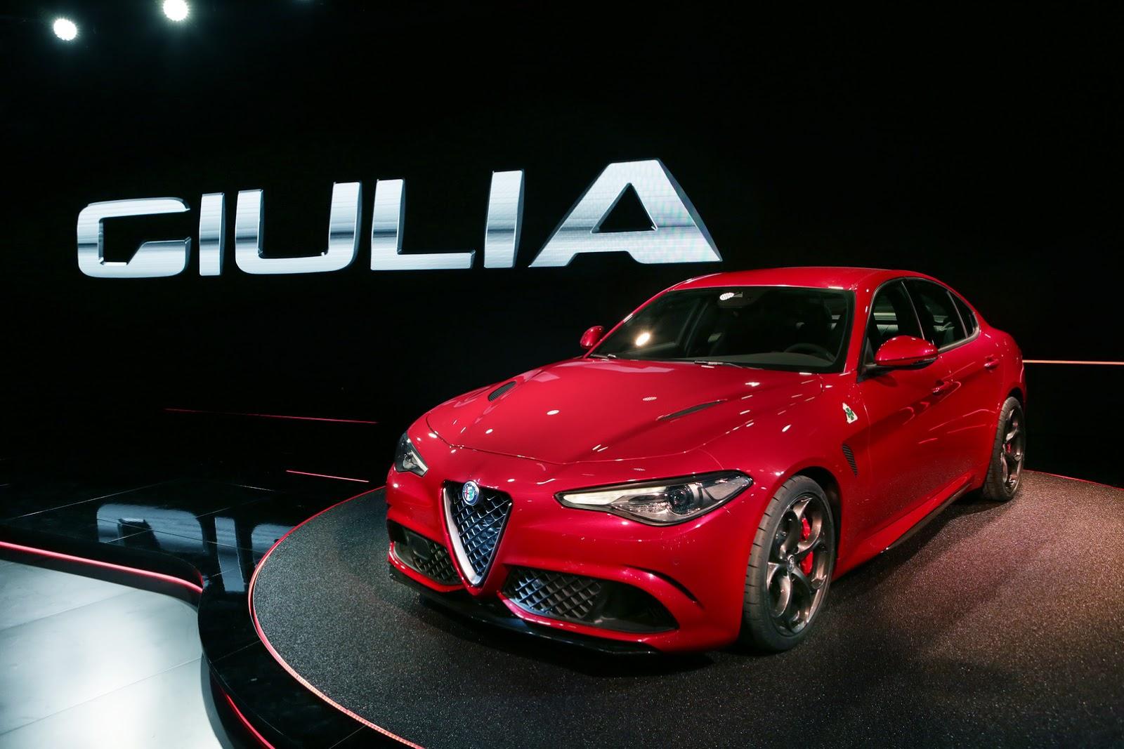 2016 Yeni Alfa Romeo Giulia