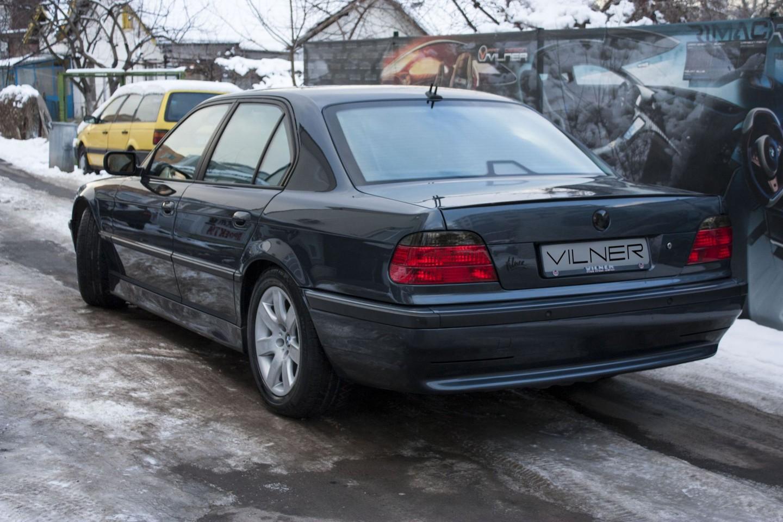 BMW 750i E38 Fotoğrafları - Oto Kokpit