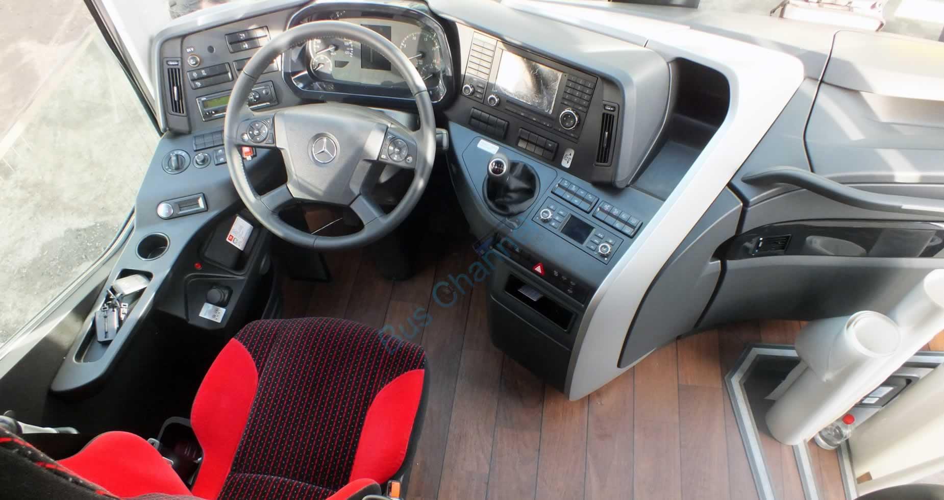 2016 Mercedes Travego 15 SHD - Oto Kokpit