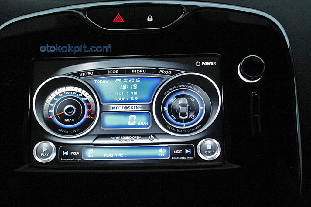 Renault Clio 4 Touch 1.2 lt 16V 7 inç Ekran