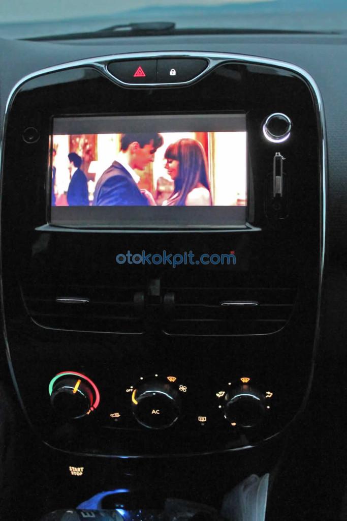 Renault Clio 4 Touch 1.2 lt 16V Video Oynatma