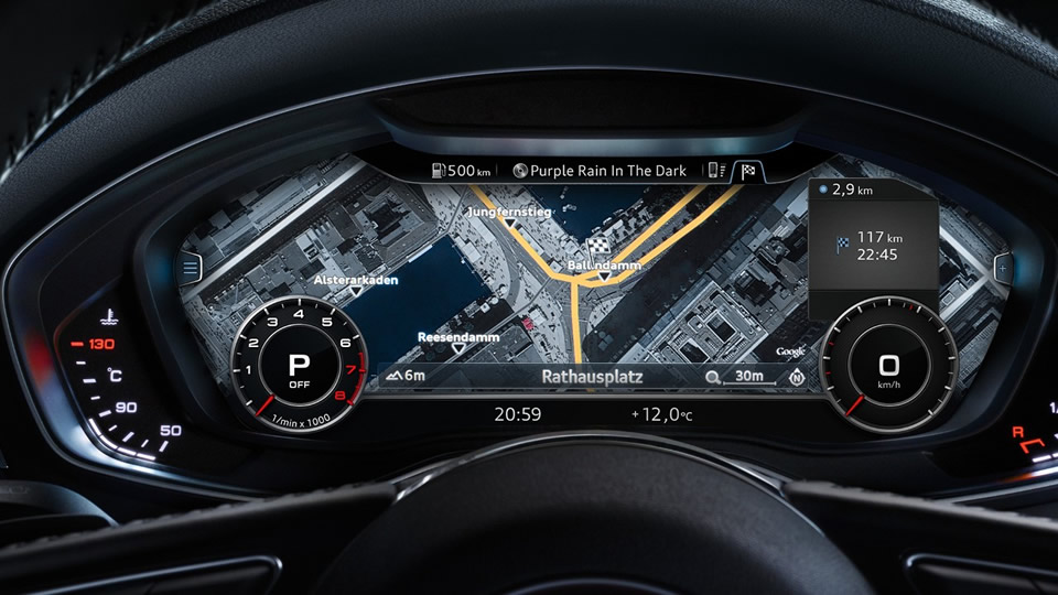 2017 Yeni Kasa Audi A5 İçi