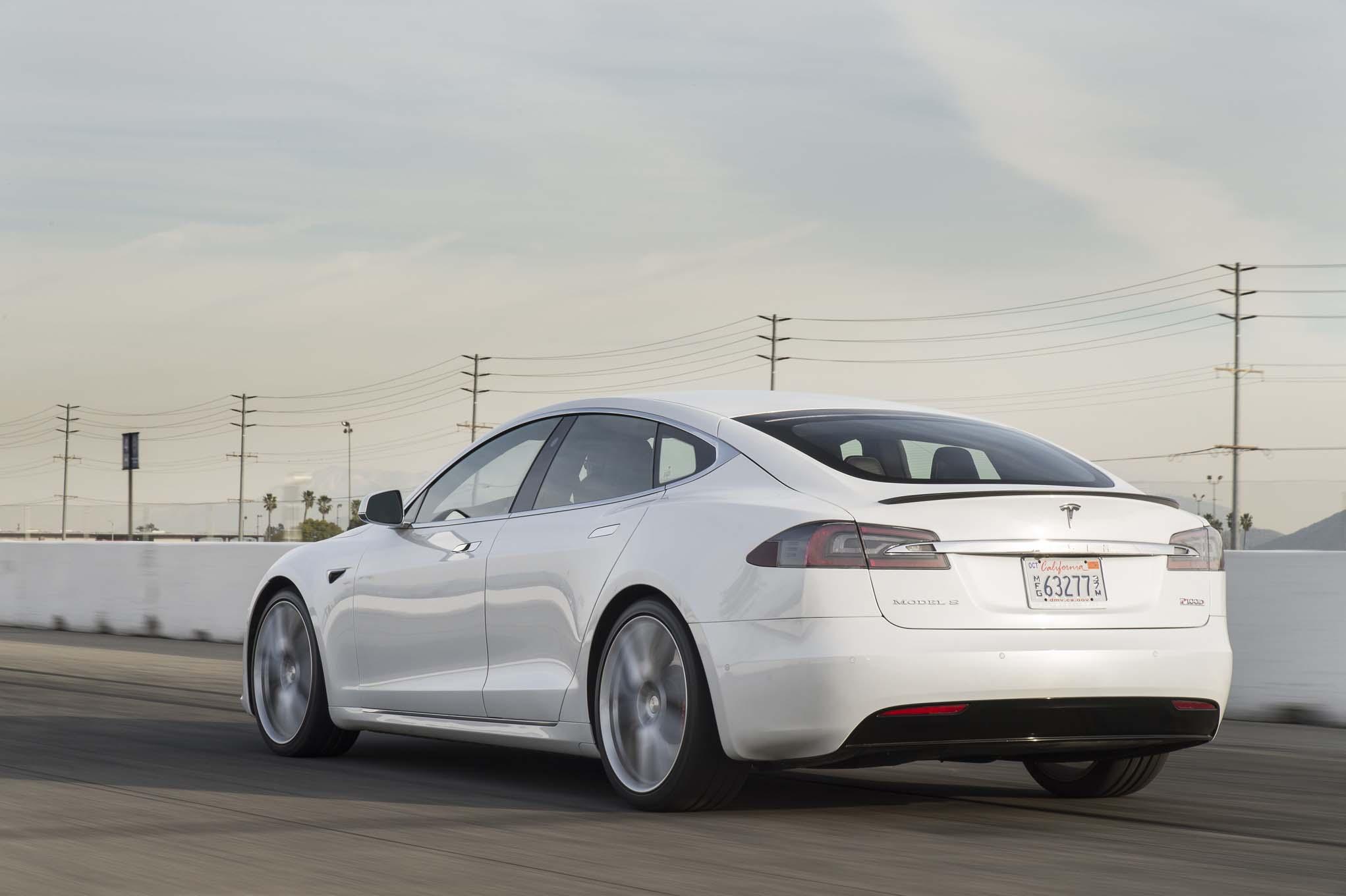 2017 Tesla Model S P100D'nin Yeni Hızlanma Değerleri ...