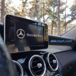 Yeni Mercedes C180 Fascination Multimedya Ekranı