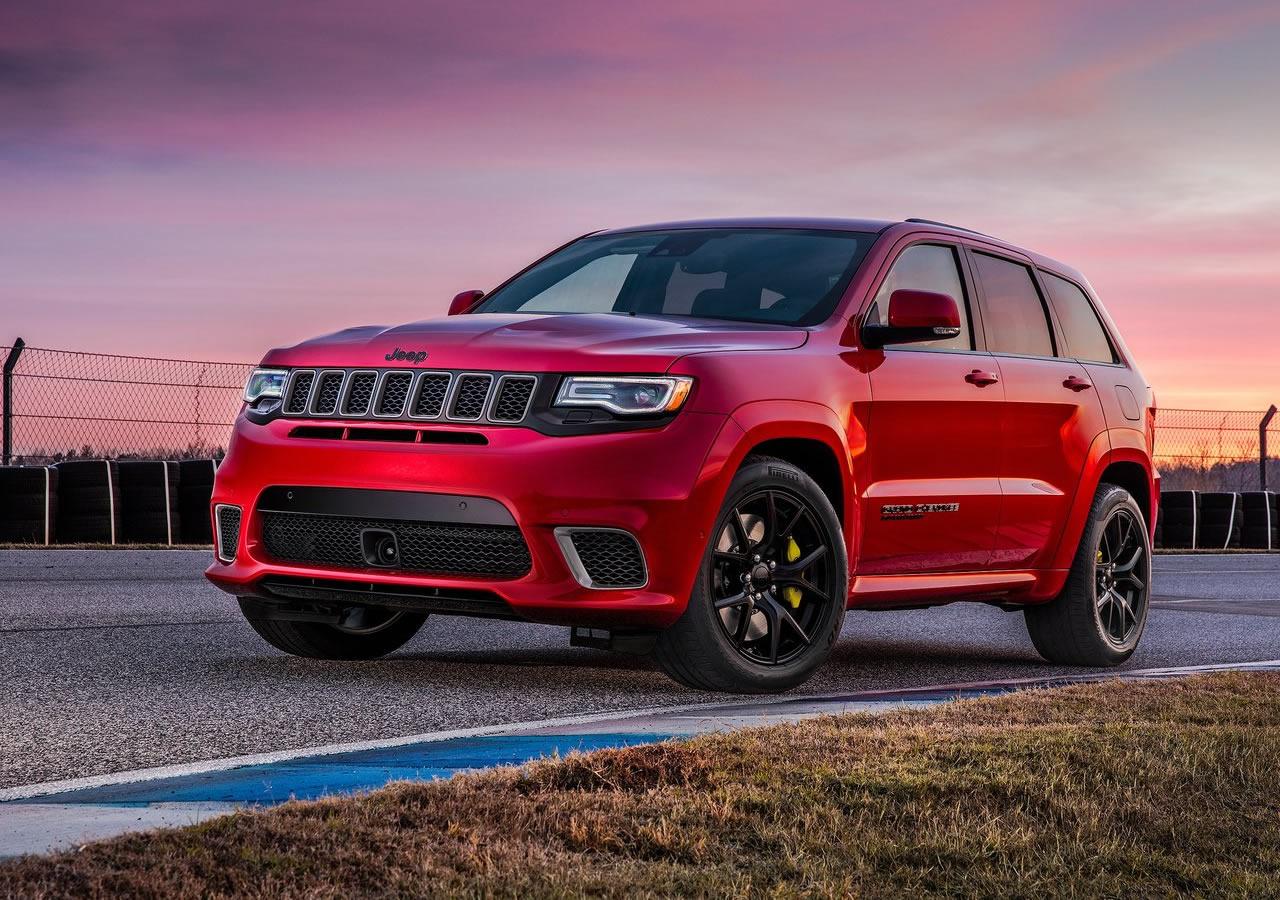 2018 Jeep Grand Cherokee Trackhawk >> 2018 Yeni Jeep Grand Cherokee Trackhawk Tanıtıldı - Oto Kokpit