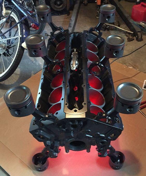 Jaguar V12 Motordan Masa