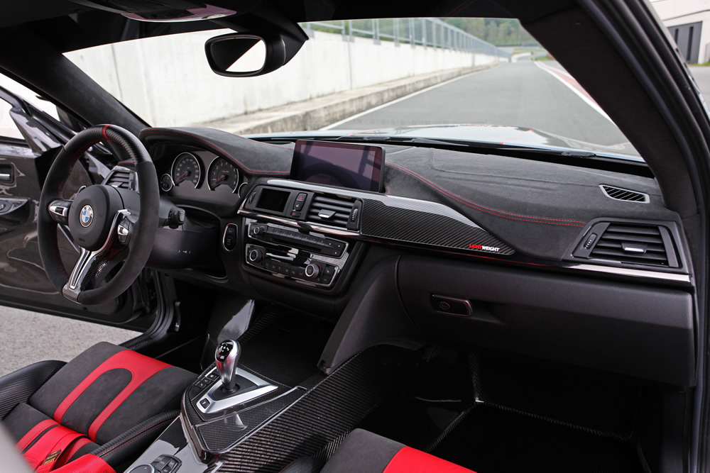 Lightweight Performans BMW M2 CSR Kokpiti
