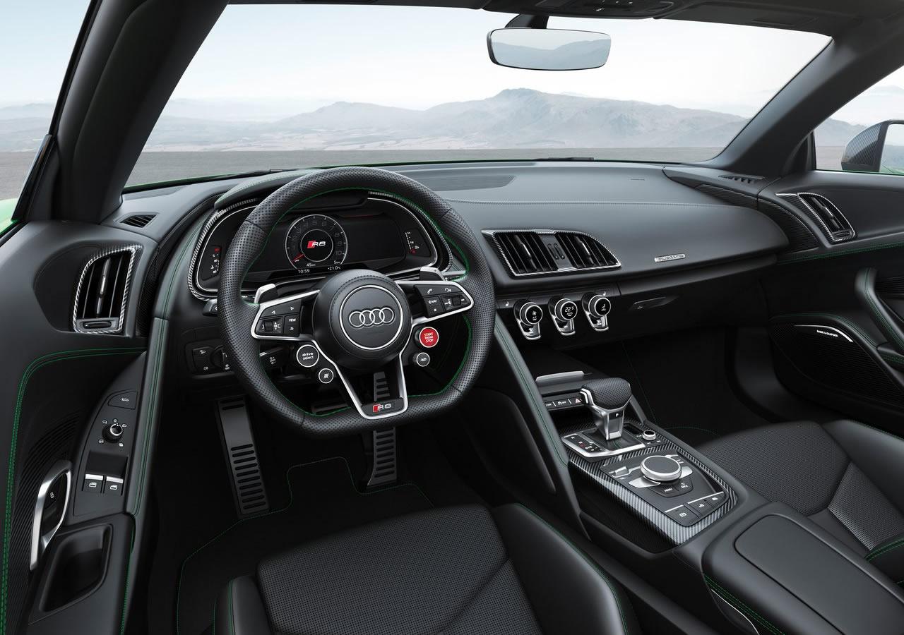 2018 Yeni Audi R8 Spyder V10 Plus Kokpiti