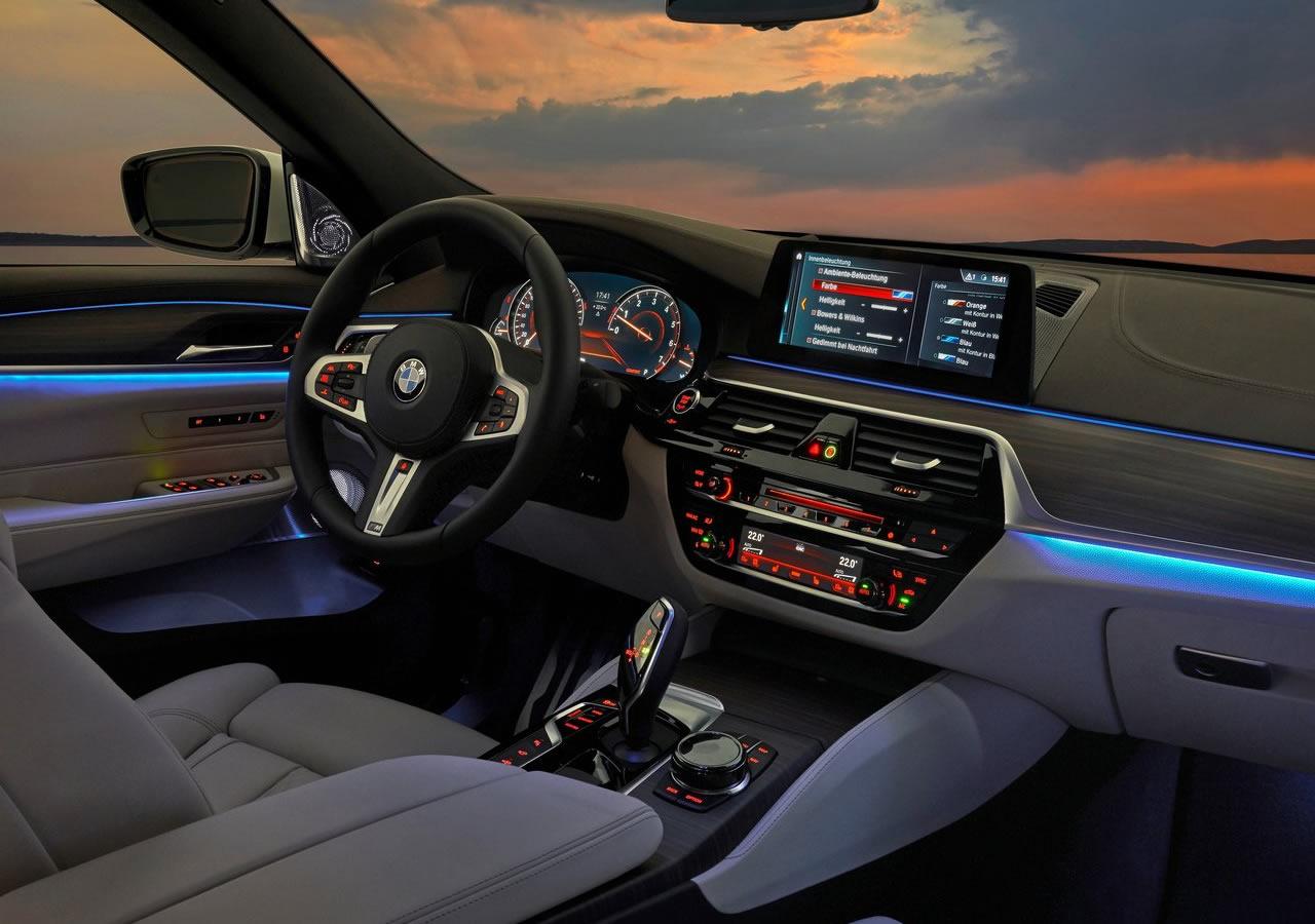 Yeni BMW 6 GT Gran Turismo İçi