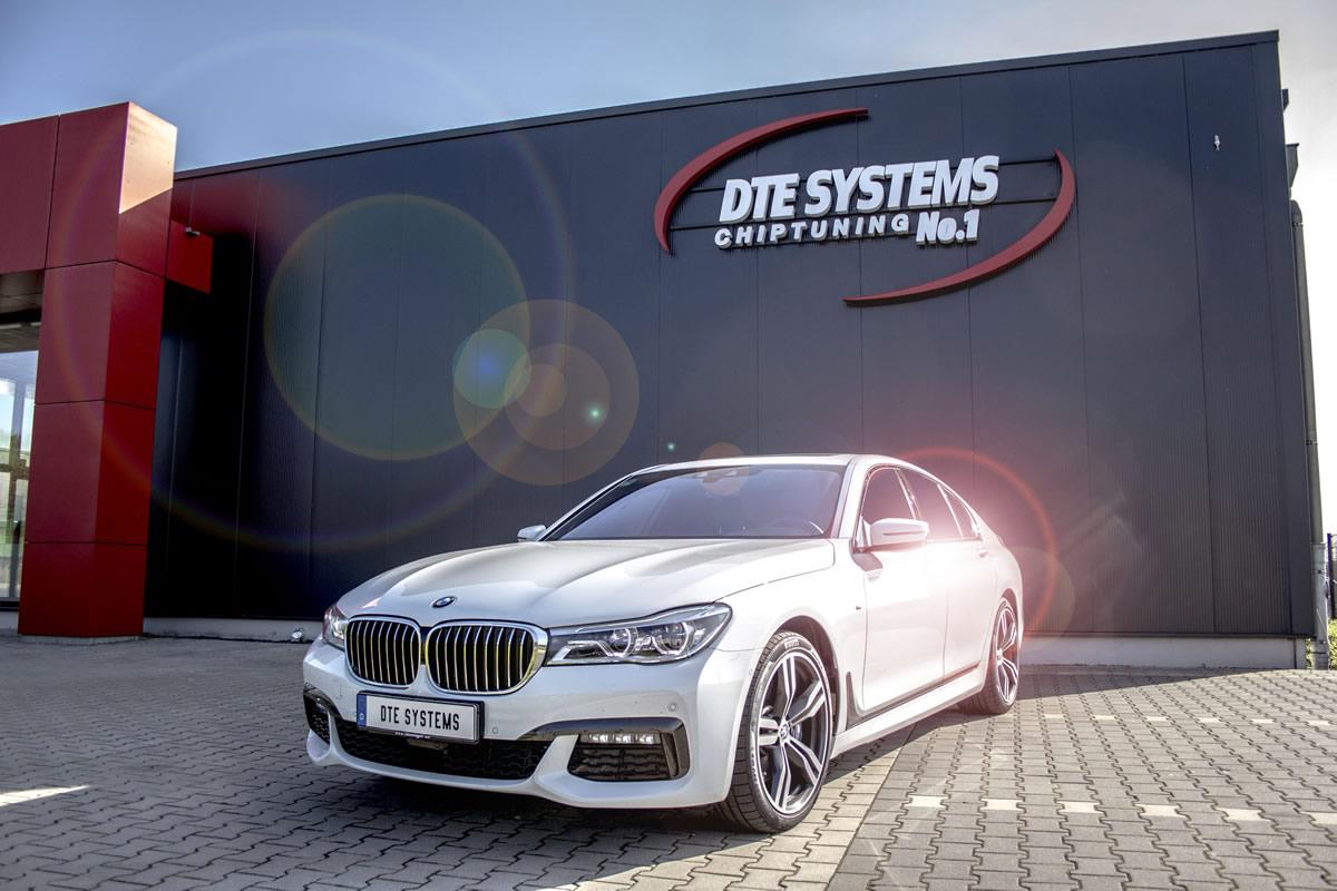 DTE System 2017 BMW 750d xDrive