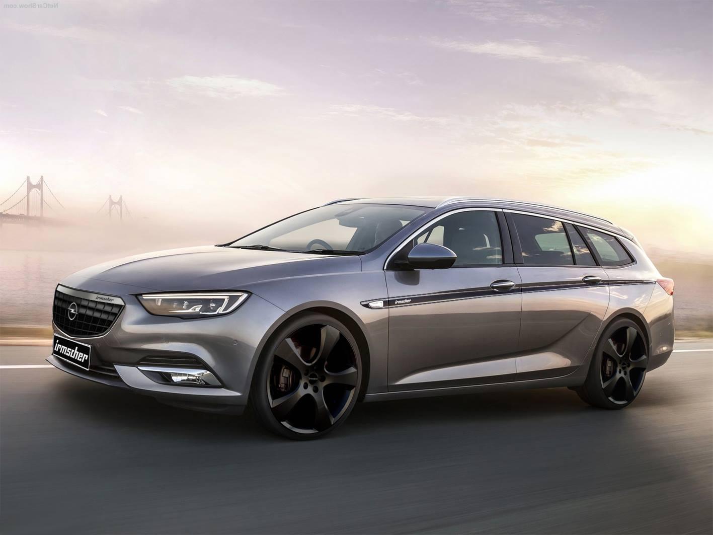 Irmscher 2017 Opel Insignia Oto Kokpit