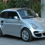 Porsche 911 Görünümlü Fiat 500