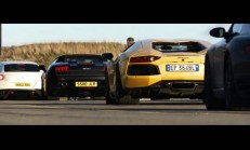 Ferrari FF, Lamborghini Aventador'a Karşı-Video