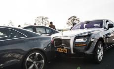 Bir Kaza Düşünün, Buna M5, S5 ve Rolls Royce Ghost Karışmış