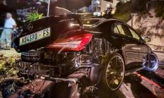 Bir Mercedes CLA45 AMG'nin Yok Oluşu