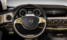 Yeni S63 AMG'ye Carlex Design'dan 24 Ayarlık Altın Dokunuş