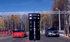 Ferrari 599 GTO – 458 Italia – Mercedes ML63 AMG Drag Yarışı