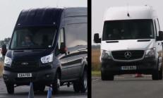 Yeni Ford Transit-Mercedes Sprinter Kozlarını Pistte Paylaştılar