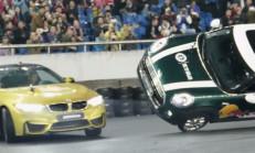 BMW M4 Coupe ve Mini Cooper İkilisinden Dünya Rekoru Geldi