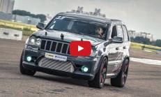 Jeep SRT8 Turbo, Lamborghini Gallardo ve Nissan GT-R'a Karşı