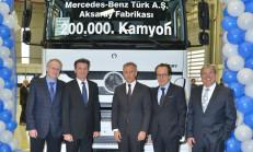Mercedes-Benz Türk 200.000'inci kamyonunu üretti