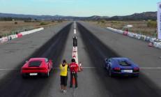 Lamborghini Aventador – Huracan Drag Yarışı-Video