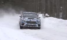 2015 Subaru WRX STI Ralli Hazırlıklarını Kış Şartlarında Sürdürüyor