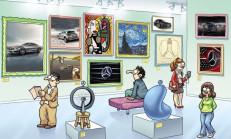 Mercedes 'ten Sanatsal Facebook Uygulaması