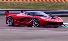Sebastian Vettel, Ferrari FXX K Direksiyonuna Geçerse