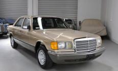 Bu Mercedes 1982 model ve Sadece 2510 km'de