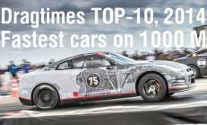 2014 Yılı Dragtimes 1000 Metre Top10 Listesi Yayınlandı