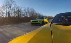 Bu Kapışma Kaçmaz: 2015 C7 Z06 – 2015 Challenger Hellcat – 2014 GT500