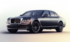 Sadece Dört Tane Var: Bentley Mulsanne Speed Blue Train