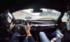 Ferrari LaFerrari ve Porsche 918 Spa Pistinde Kozlarını Paylaşıyor