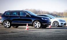 VW Golf R – VW Touareg V8 TDI Kozlarını Paylaşıyor
