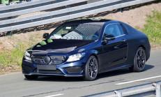 2015 Yeni Kasa Mercedes C-Serisi Coupe Yollara İndi