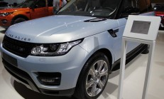 2015 İstanbul Auto Show Range Rover Standı