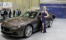 2015 İstanbul Auto Show Maserati Standı
