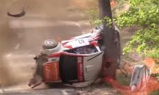 Citroen C2'nin Feci Ralli Kazası