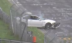 Nürburgring Pistinde Patlayan BMW'ler