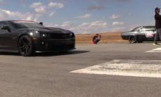TwinTurbo'lu Camaroların Drag Yarış Savaşı