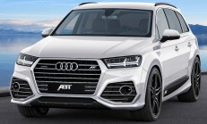 2015 Yeni Audi Q7 ABT Modifiye Kiti Yayınlandı