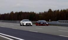 1200 BG Nissan GT-R Alpha-12, Bugatti Veyron Vitesse'ye Karşı