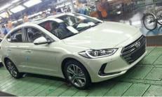 2017 Yeni Kasa Hyundai Elantra Görüntülendi