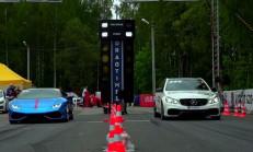 950 BG Mercedes E63 AMG S, Huracan ve BMW M6'ya Karşı